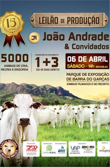 15º Produção João Andrade & Convidados