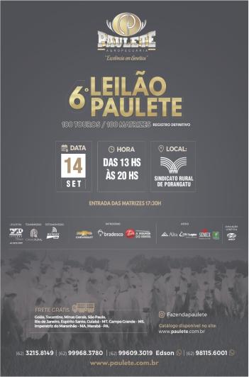 6º Leilão Paulete - Touros e Matrizes