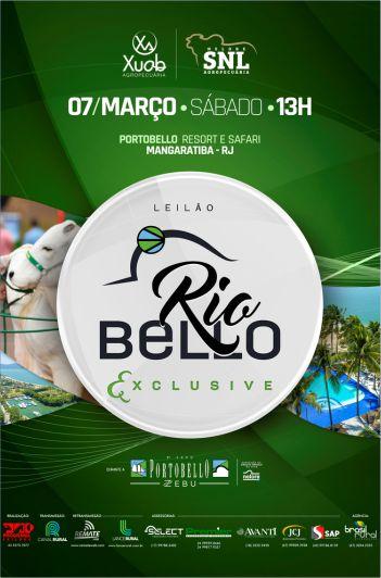 Leilão Rio Bello Exclusive