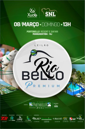 Leilão Rio Bello Premium