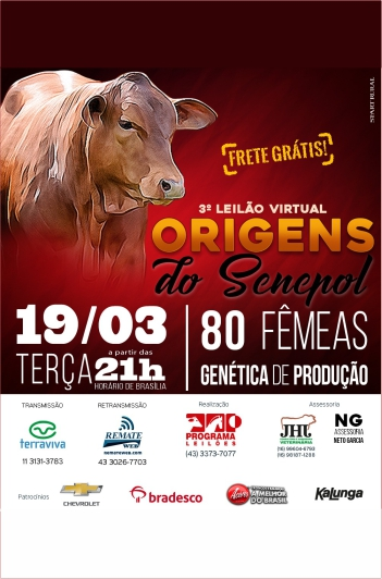 3º Virtual Origens do Senepol