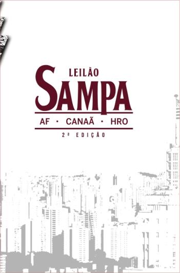Leilão Sampa - 2º Edição