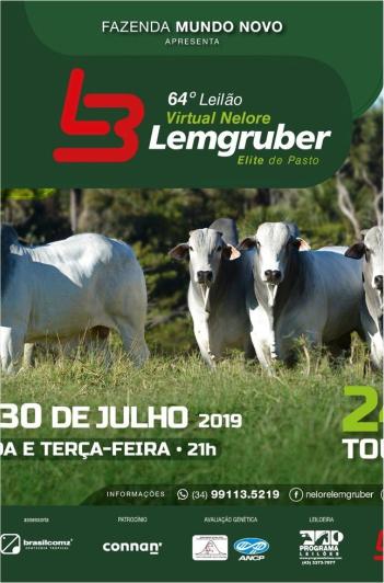 64º Virtual Nelore Lemgruber - 2º Etapa