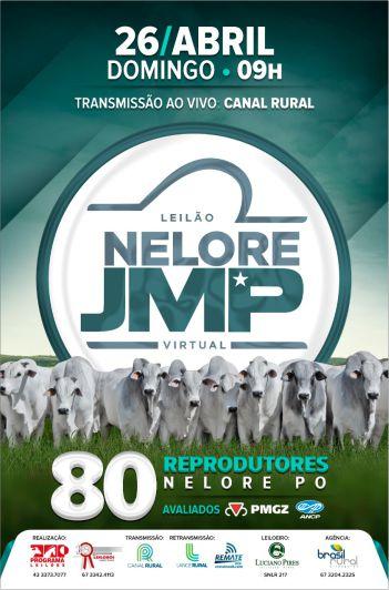 Leilão Virtual Touros JMP