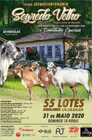 Leilão 150º Fazenda Segredo Velho & Amigos