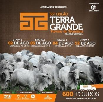 33° Terra Grande Paraíso do Tocantins - Etapa 1