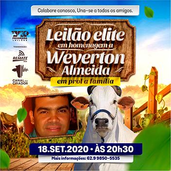 Leilão Elite - Em Homenagem à Weverton Almeida