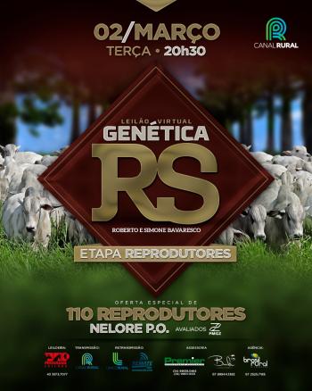 Leilão Virtual Genética RS - Etapa Reprodutores