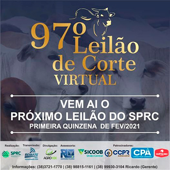 97° Leilão de Corte Virtual