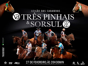 Leilão das Cabanhas Três Pinhais & Sorsul