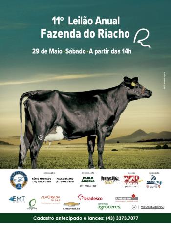 11° Leilão Anual Fazenda do Riacho
