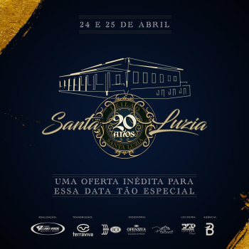 Leilão Santa Luzia 20 Anos - 1° Etapa