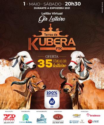 Leilão Virtual Gir Leiteiro Terras de Kubera FTK