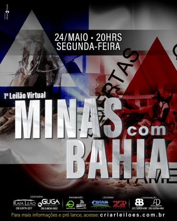 1° Leilão Virtual Minas Com Bahia