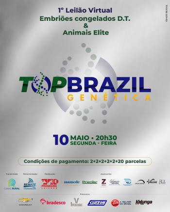 1° Leilão Virtual TopBrazil Genética