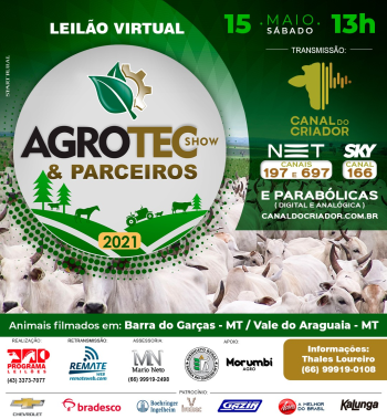 Leilão Virtual Agrotec Show & Parceiros