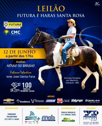 Leilão Futura e Haras Santa Rosa