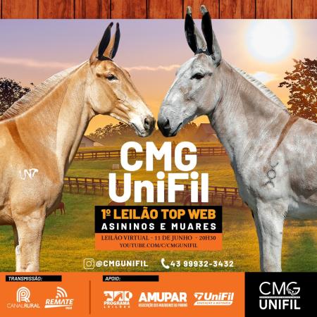 CMG Unifil - 1° Leilão Top Web Asininos e Muares