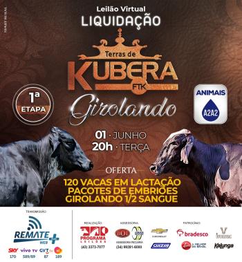 Leilão Virtual Liquidação Terras de Kubera FTK | Girolando - 1° Etapa