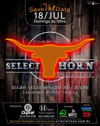 1° Leilão Virtual Select Horn Special Sale