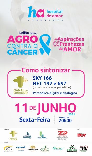 Leilão Virtual Agro Contra o Câncer