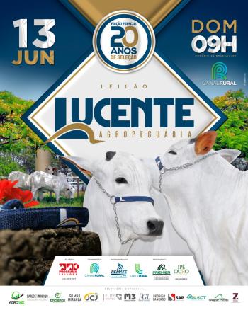 Leilão Lucente Agropecuária