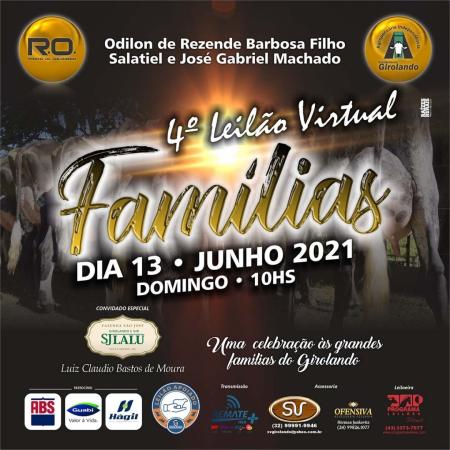 4° Leilão Virtual Famílias