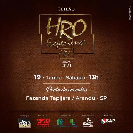 Leilão HRO Experience - Edição 2021