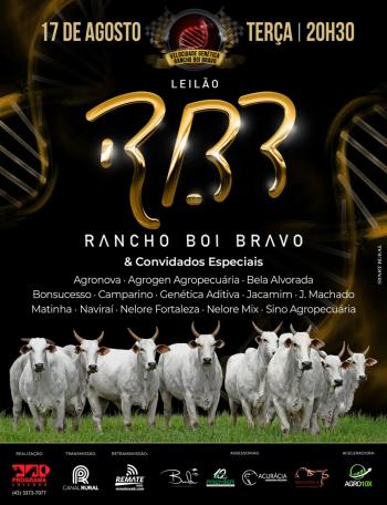 Leilão Rancho Boi Bravo & Convidados Especiais