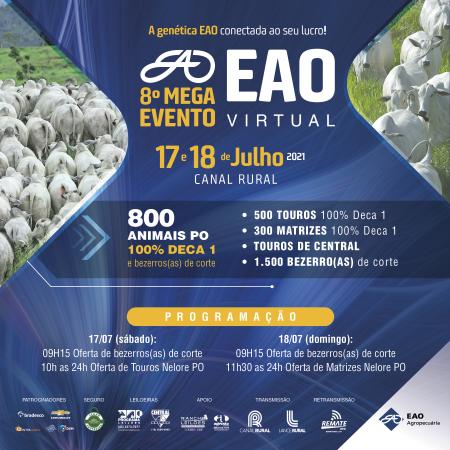 8° MEGA Evento EAO Virtual - Etapa Touros
