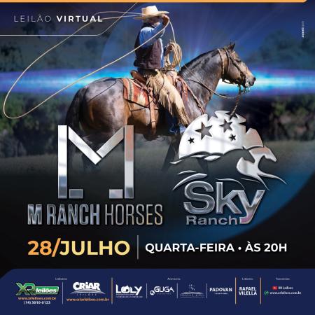 Leilão Virtual M Ranch Horses e Sky Ranch