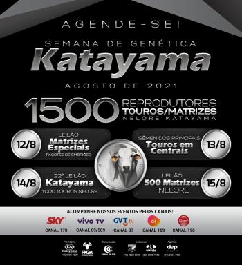 Semana de Genética Katayama - 1° Etapa