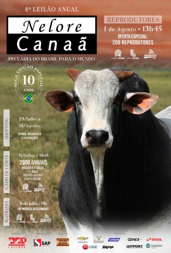 4° Leilão Anual Nelore Canaã - Reprodutores