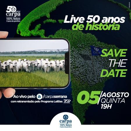 LIVE | 50 Anos Carpa