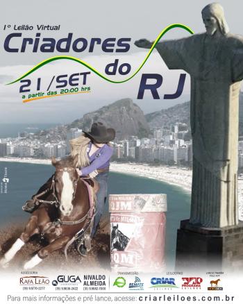 1° Leilão Virtual Criadores do RJ
