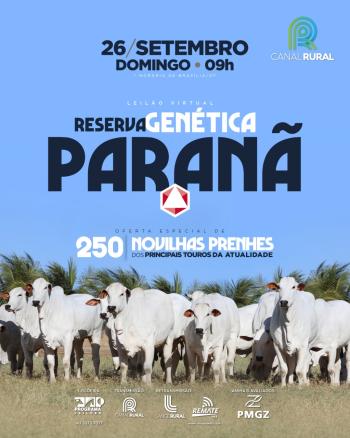 Leilão Virtual Genética Reserva Paranã