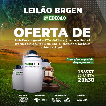 Leilão BRGEN - 2° Edição