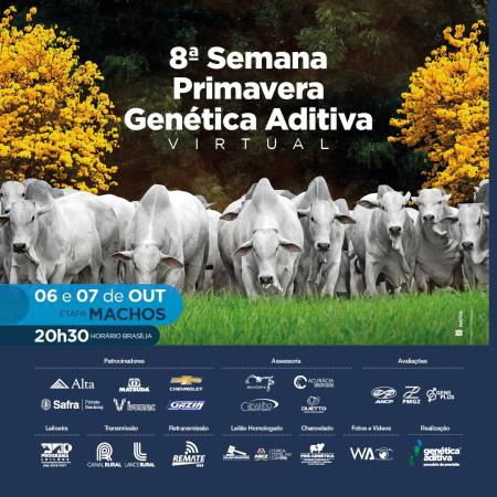 8° Semana Primavera Genética Aditiva - Machos - 07/10